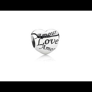 Jewelry - Pandora Language of Love Charm, 791111